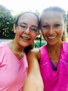 Alana and Heather