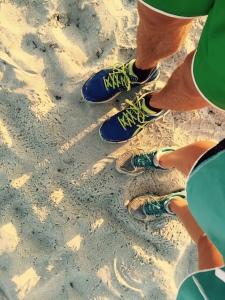 Ben and Alana Running